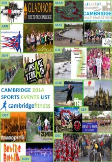 Cambridge Local Sports events list 2014